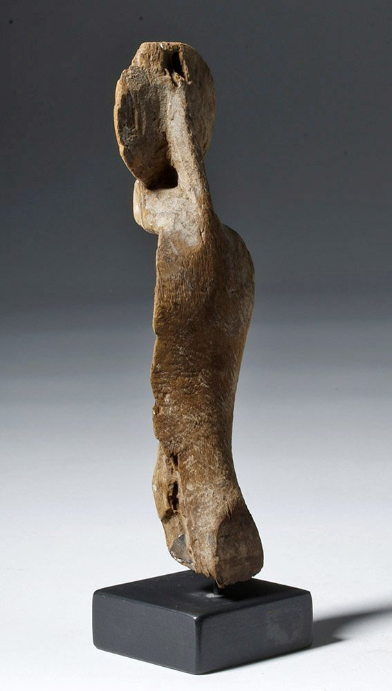 Fine Egyptian Wooden Uraeus - 2