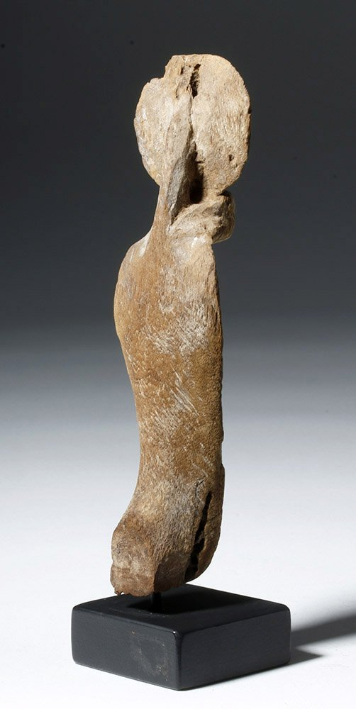 Fine Egyptian Wooden Uraeus - 3