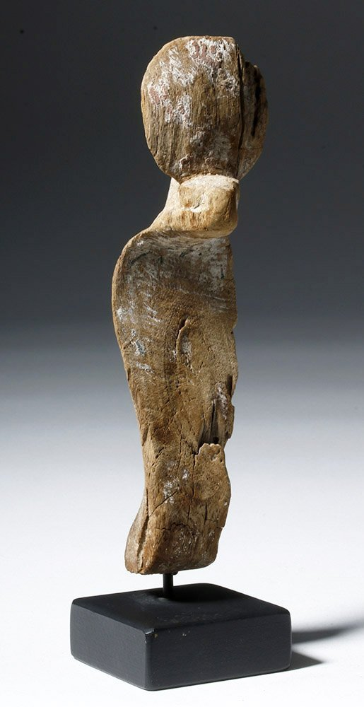Fine Egyptian Wooden Uraeus - 4