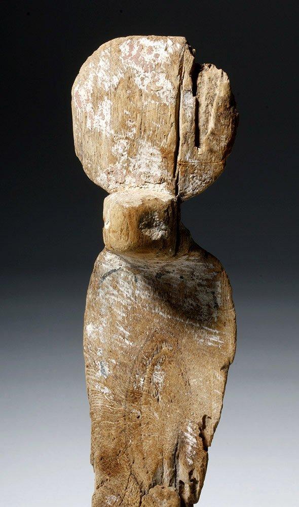 Fine Egyptian Wooden Uraeus - 5