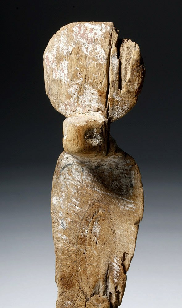 Fine Egyptian Wooden Uraeus - 5
