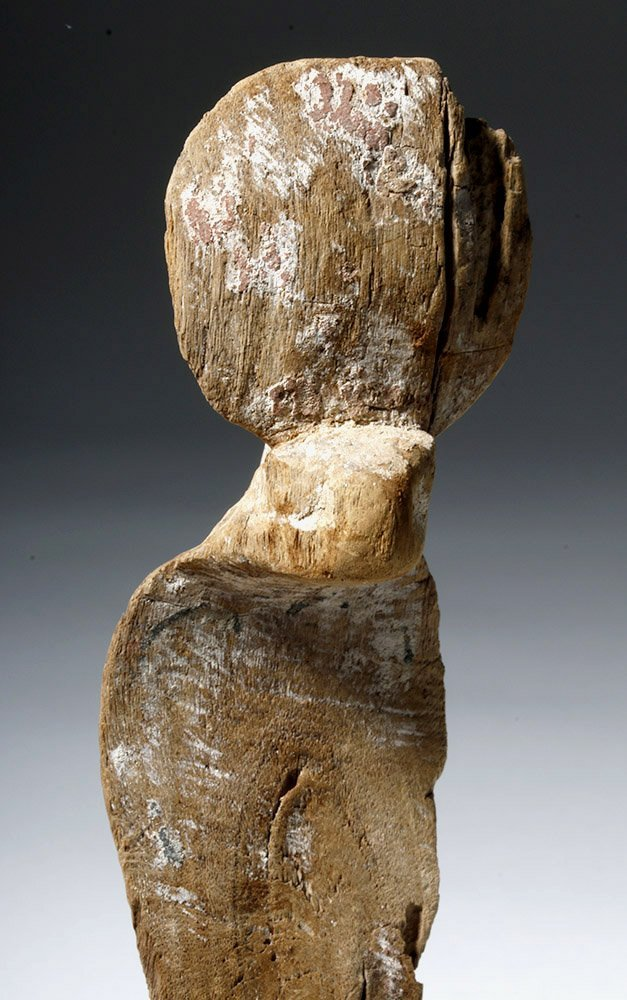 Fine Egyptian Wooden Uraeus - 6