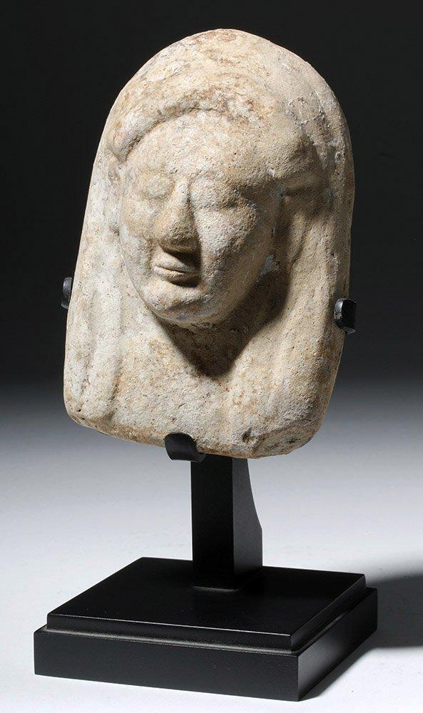 Western Greek Pottery Protome of a Goddess