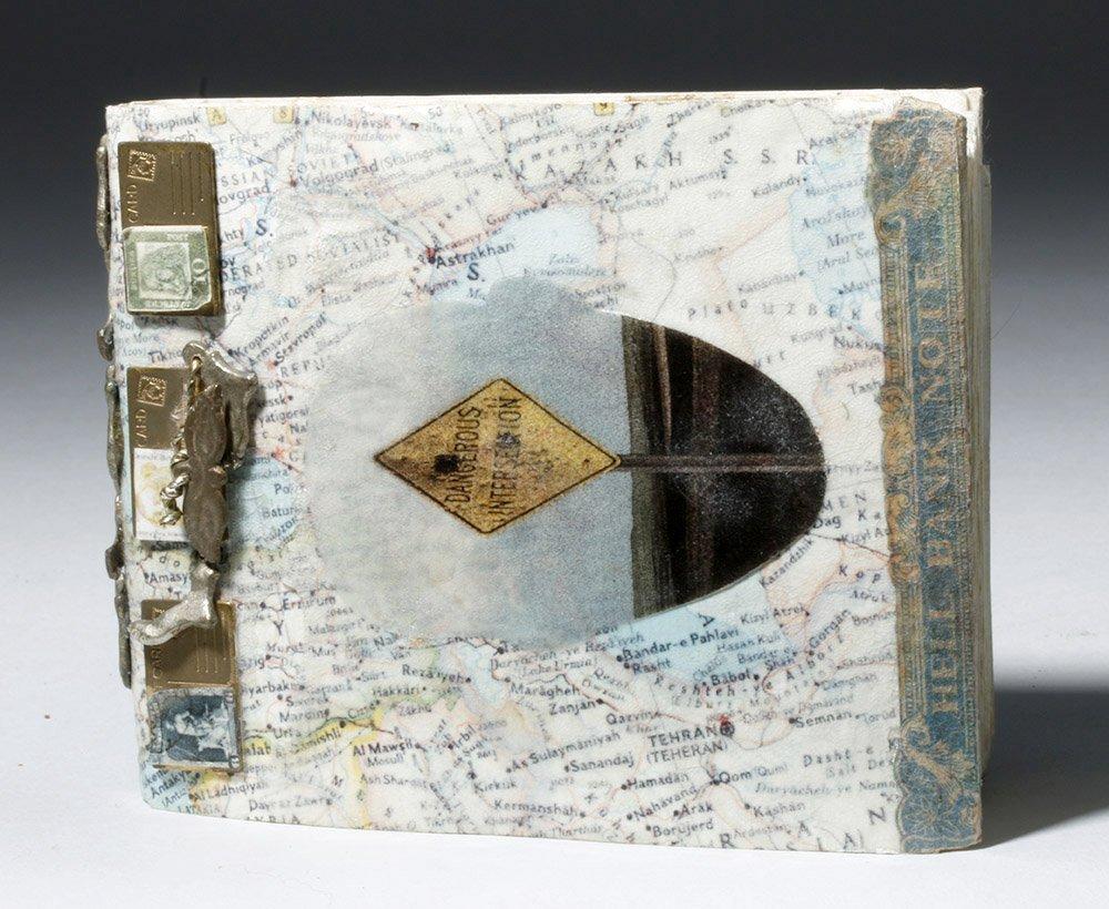 Souvenir Book - Passport Pages, Stamps, Milagros - 2
