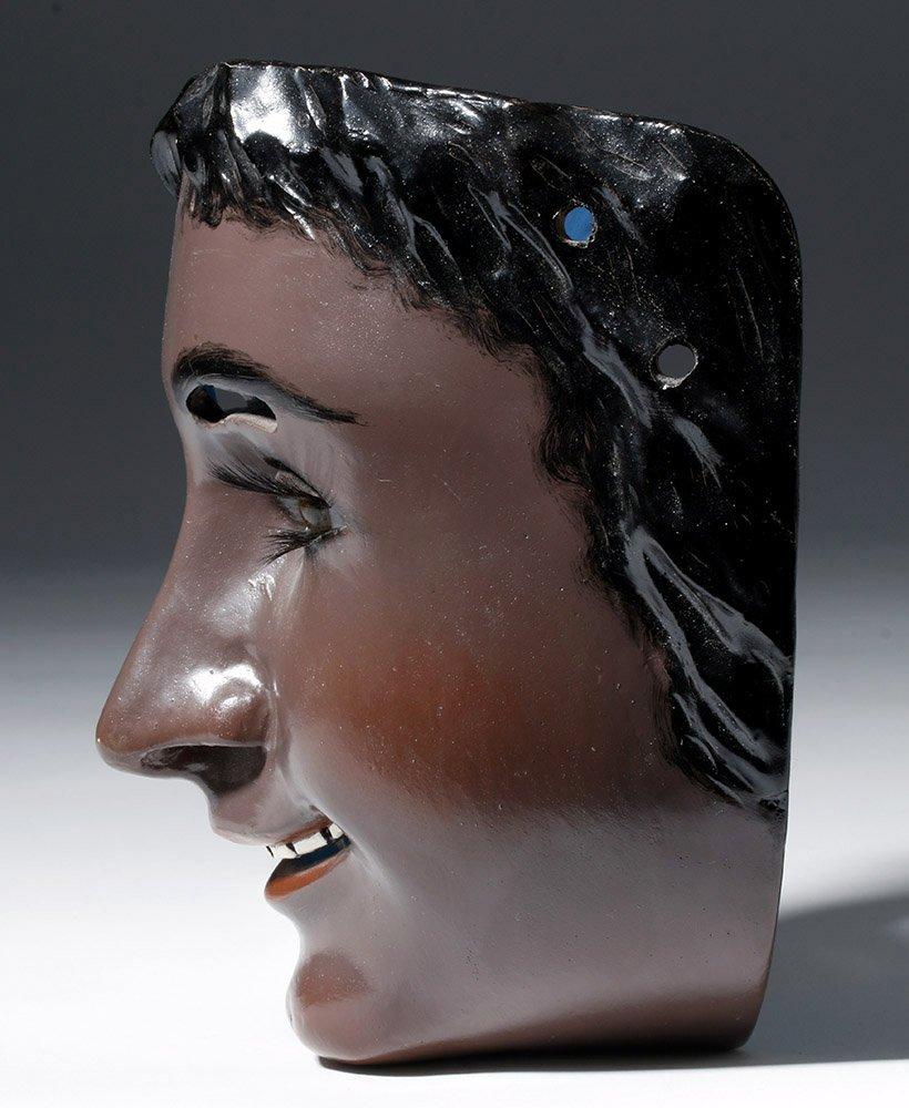 Rare Mexican Catrine Dandy Mask - Mechanical Eyes - 2