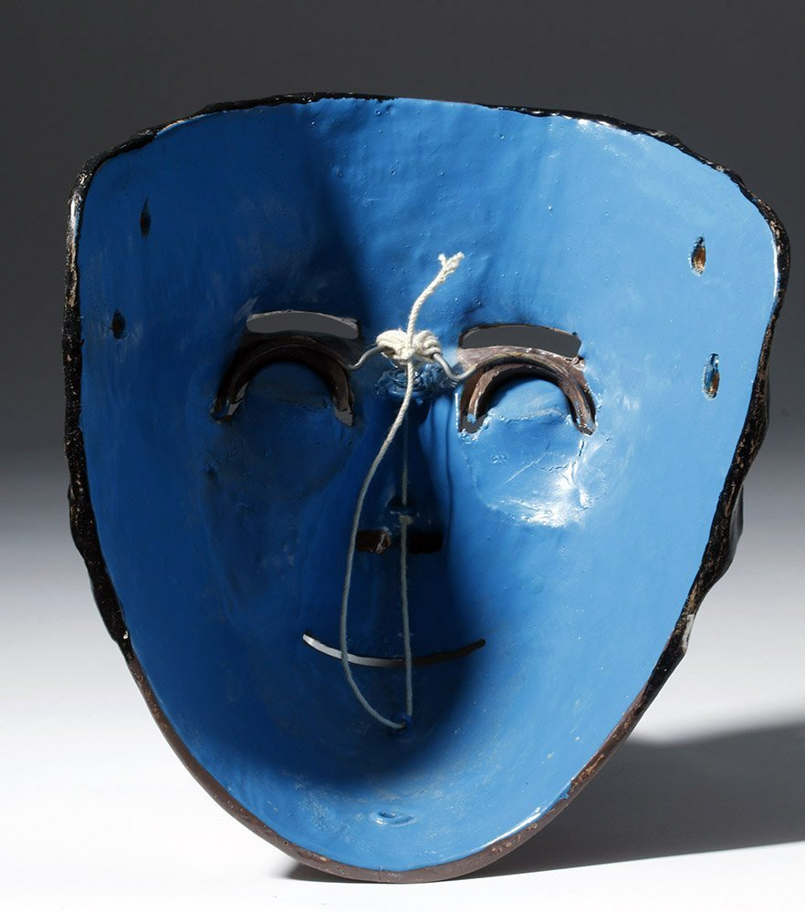 Rare Mexican Catrine Dandy Mask - Mechanical Eyes - 3