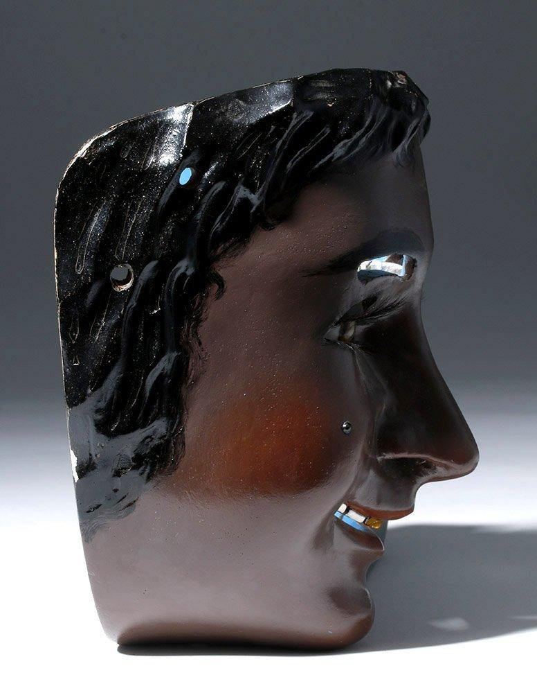 Rare Mexican Catrine Dandy Mask - Mechanical Eyes - 4