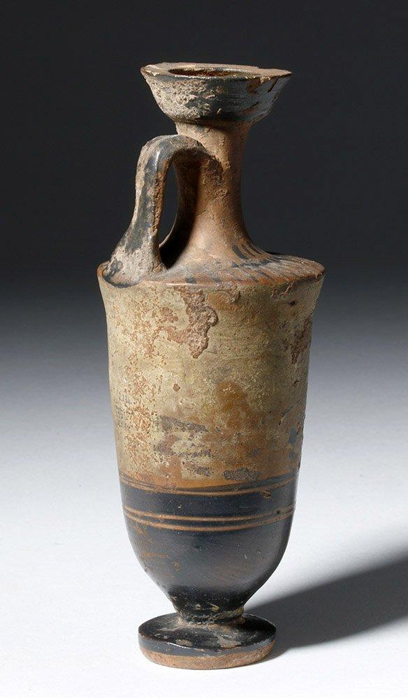 Greek Attic Pottery White-Ground Lekythos - 3