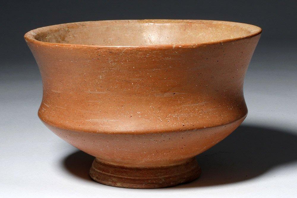 Roman Redware Deep Bowl
