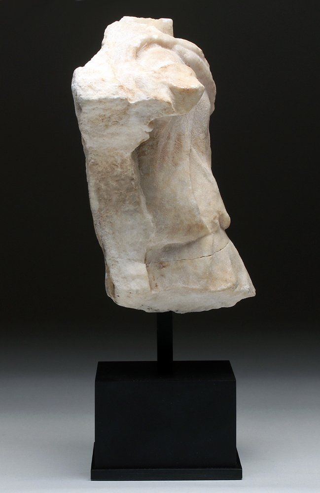 Finely-Carved Roman Marble Torso Frieze - 3