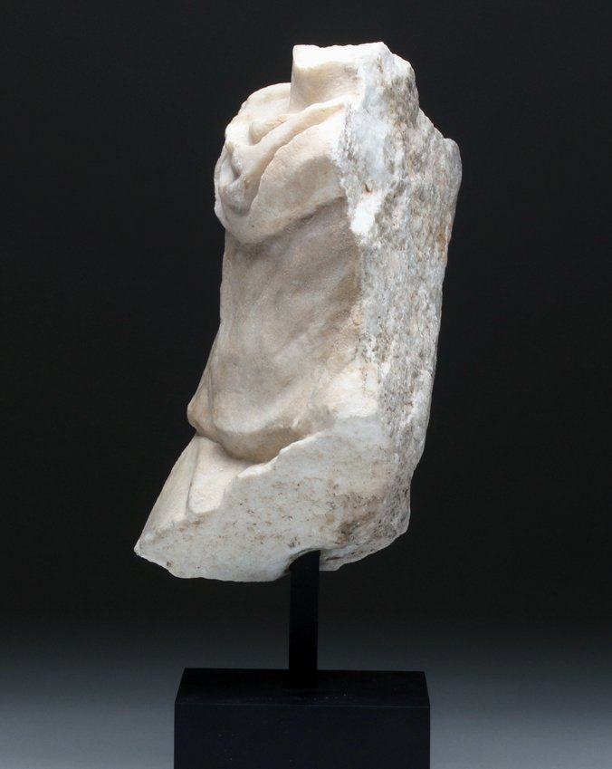 Finely-Carved Roman Marble Torso Frieze - 5