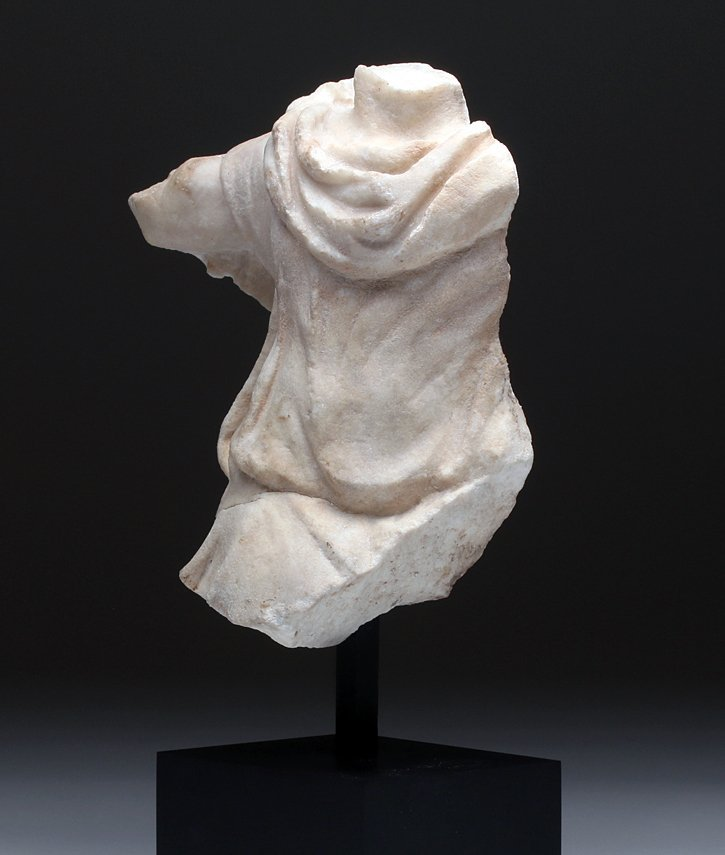 Finely-Carved Roman Marble Torso Frieze - 6