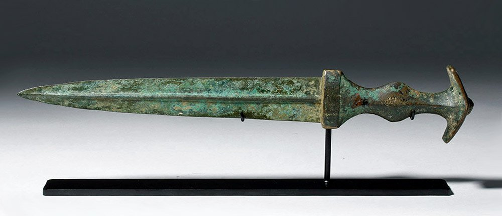 Very Fine Luristan Bronze Dagger