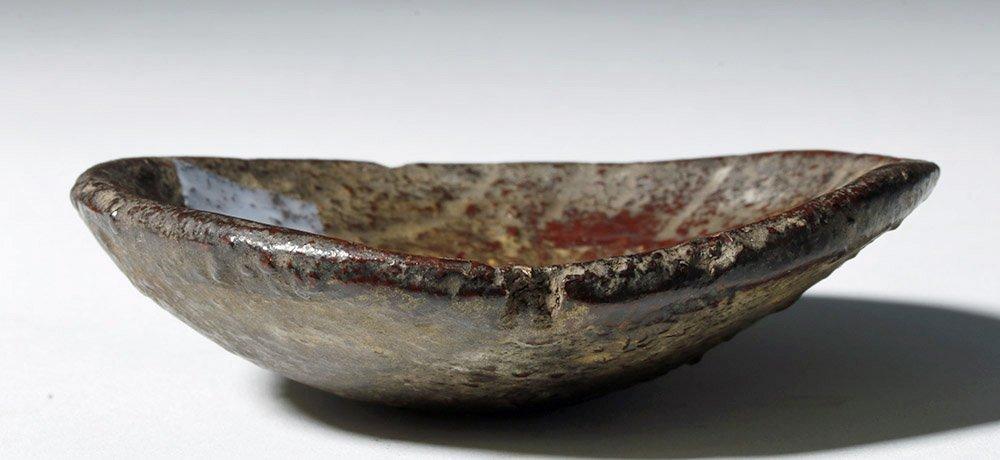 Rare 20th C. Tibetan Gilded / Lacquered Kapala - 4