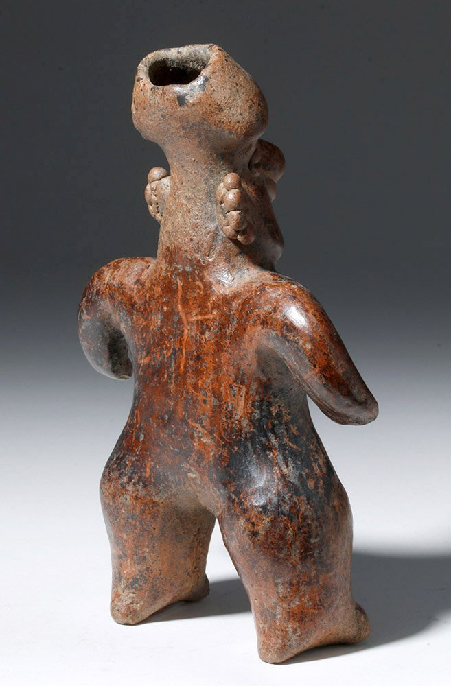 Nayarit Pottery Standing Female Figure - 3