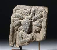 Lovely Gandharan Stone Panel of Prince
