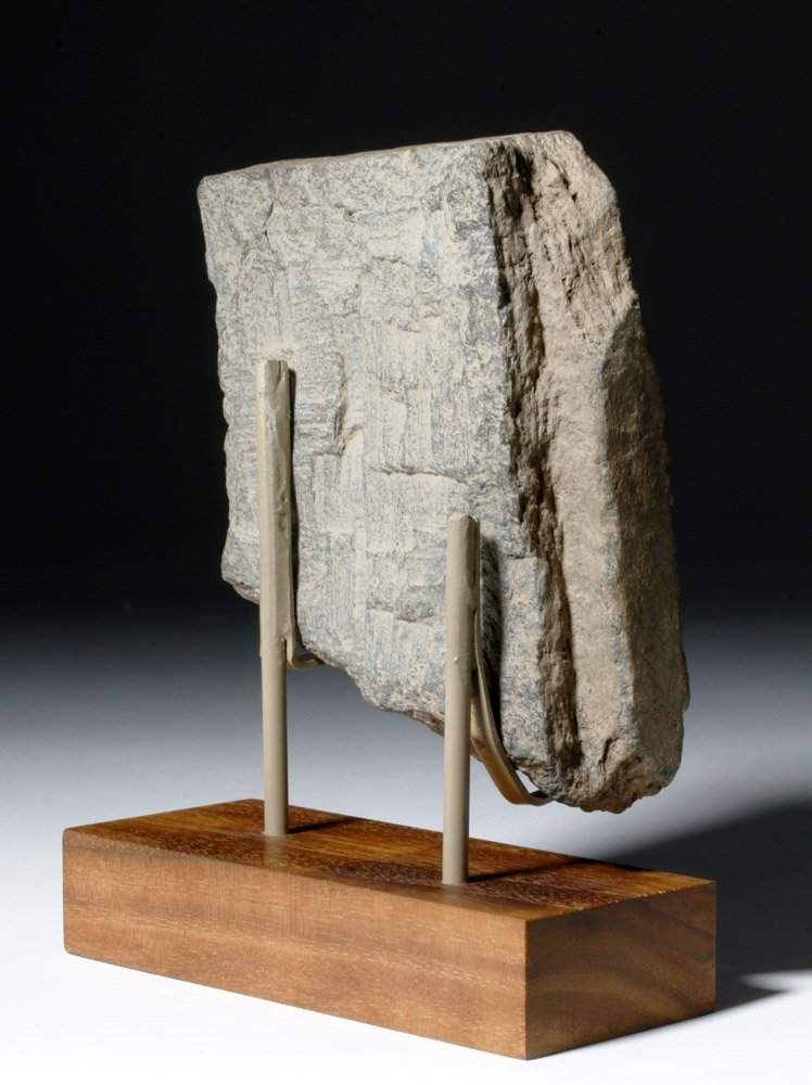 Lovely Gandharan Stone Panel of Prince - 3