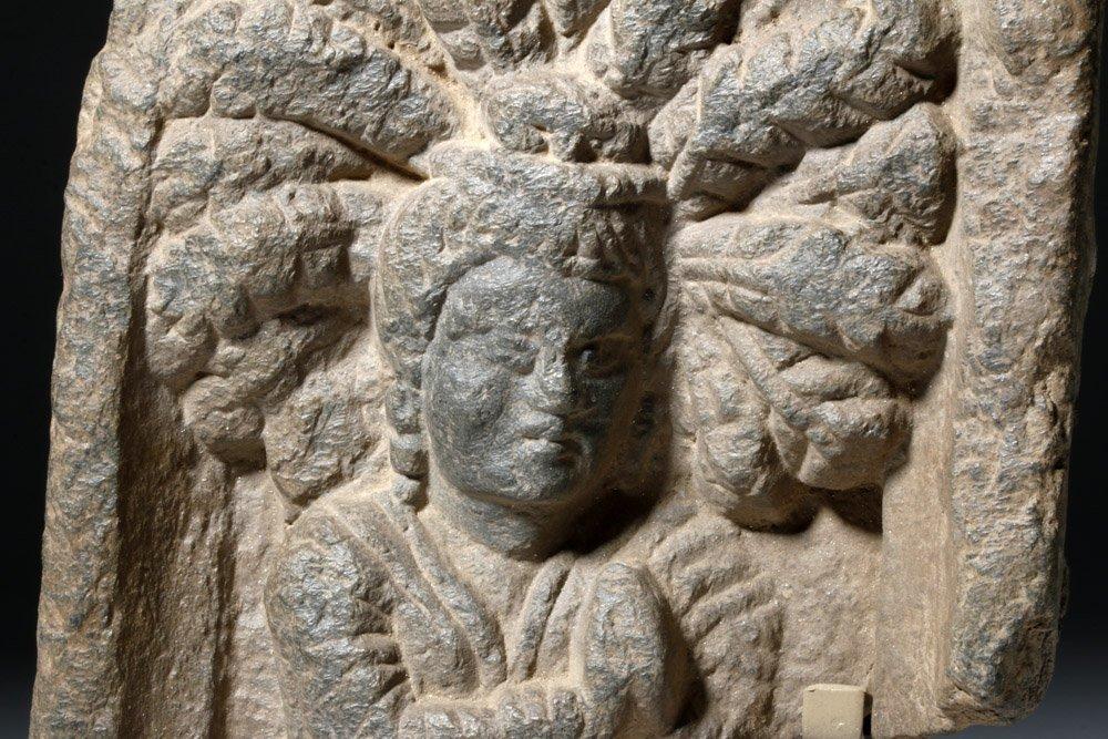 Lovely Gandharan Stone Panel of Prince - 6