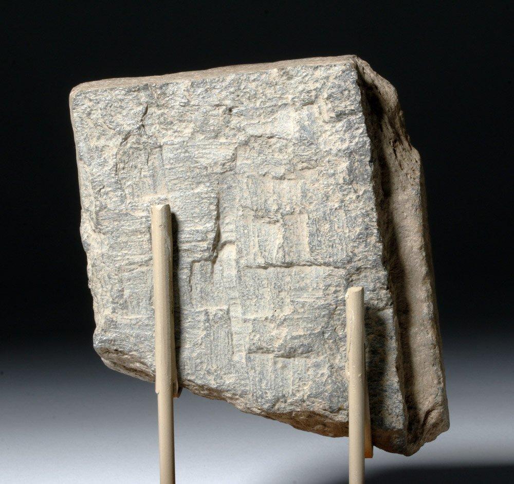 Lovely Gandharan Stone Panel of Prince - 7