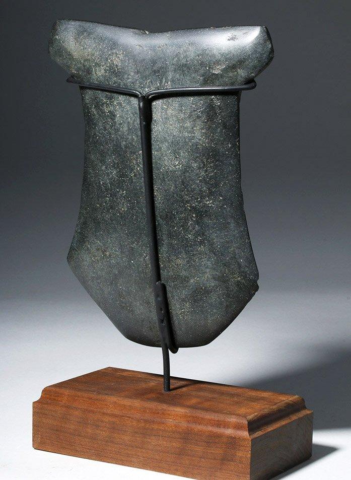 Huge Ecuadorian Greenstone Ritual Hacha - 3000 Y/O - 3