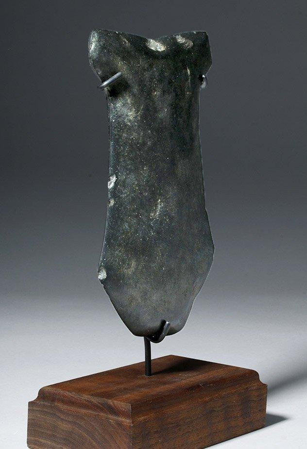 Huge Ecuadorian Greenstone Ritual Hacha - 3000 Y/O - 4