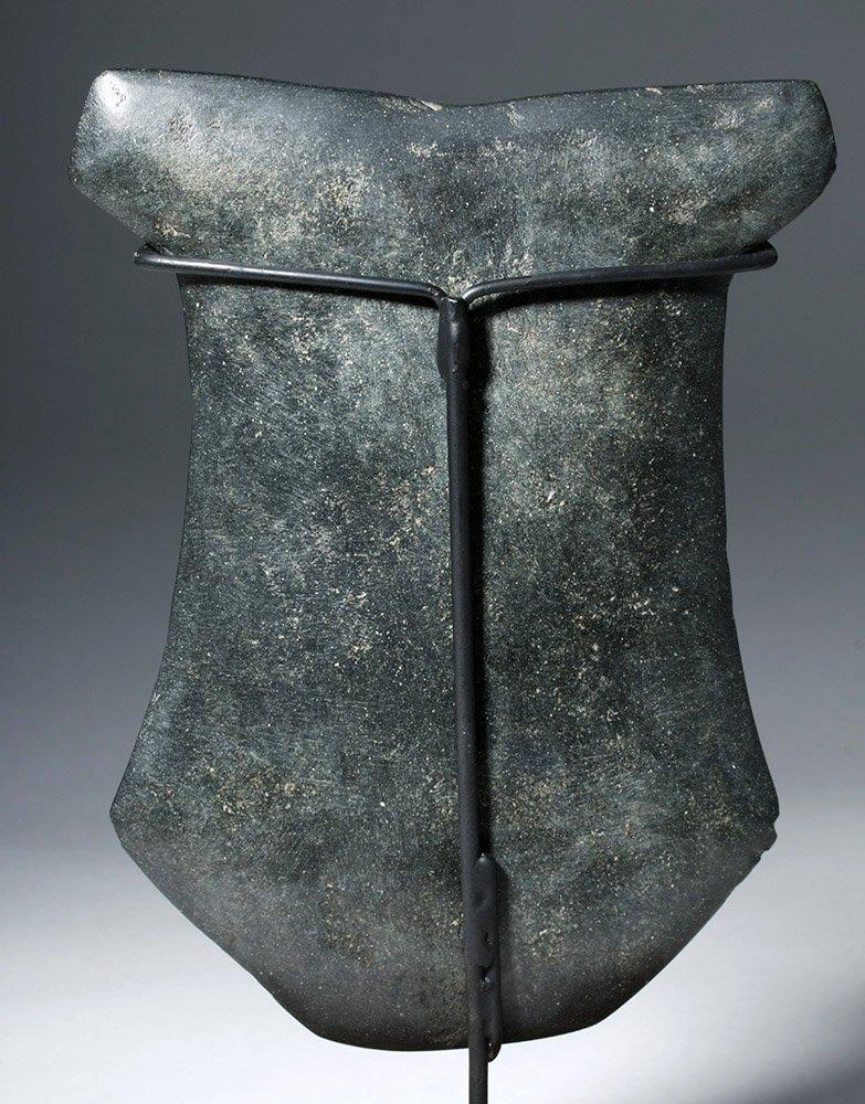 Huge Ecuadorian Greenstone Ritual Hacha - 3000 Y/O - 6