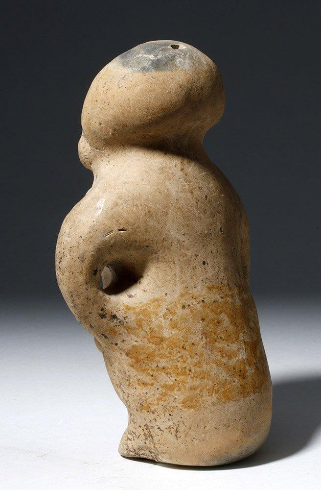 Jamacoaque Polychrome Pottery Standing Effigy - 2