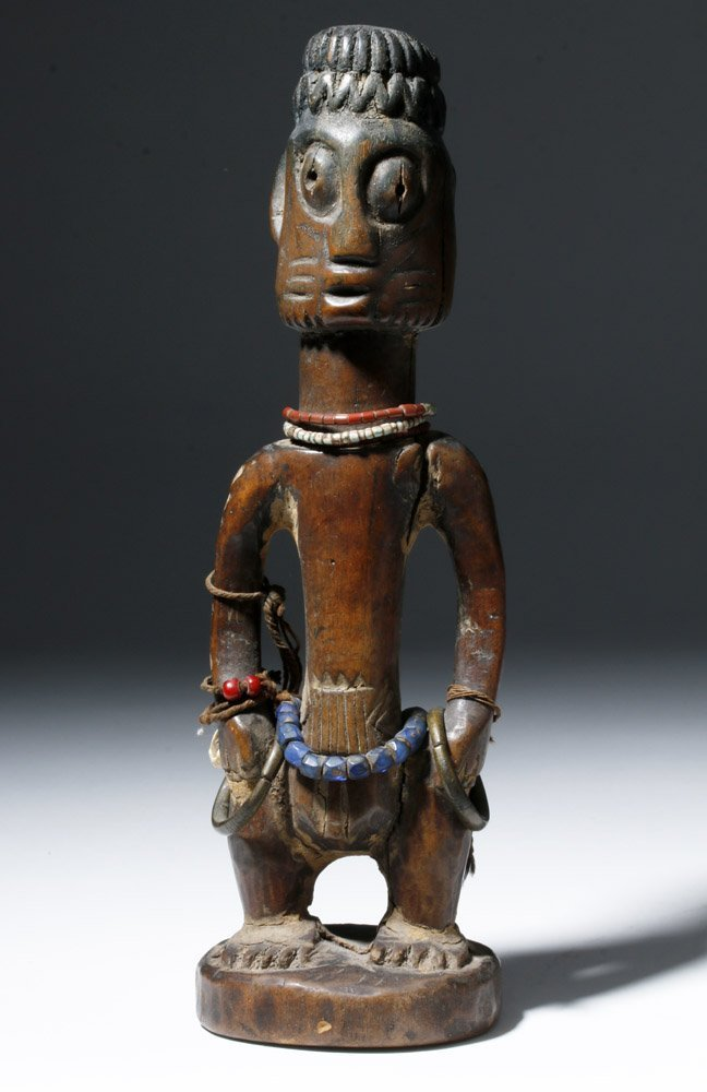 Fine Old African Wooden Ibeji Pair - 6