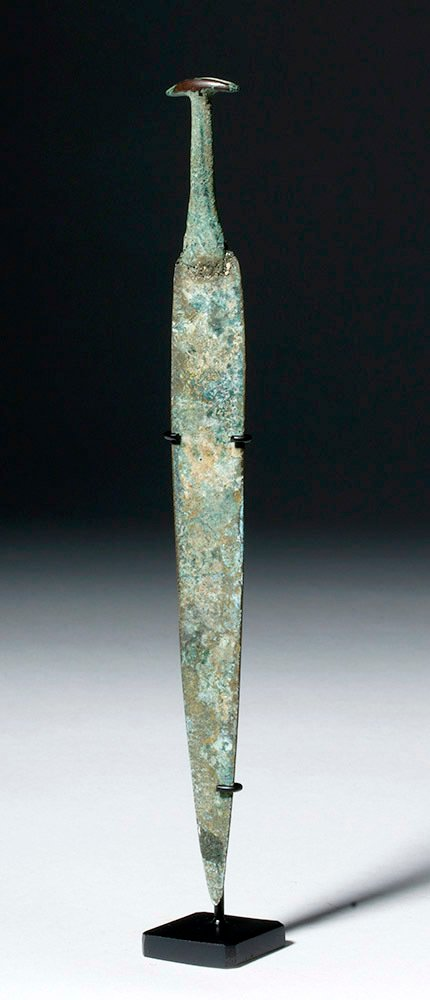 Ancient Near East Bronze Dagger, ex-Piscopo