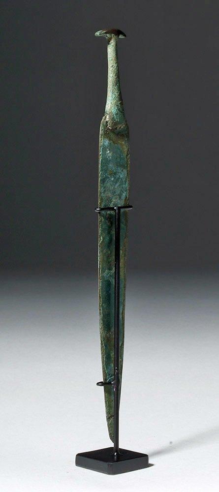 Ancient Near East Bronze Dagger, ex-Piscopo - 2
