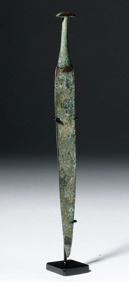 Ancient Near East Bronze Dagger, ex-Piscopo - 4