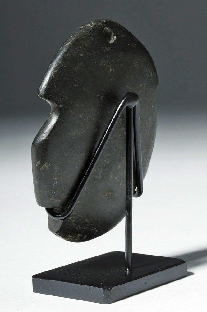 Attractive Guerrero Mezcala Blackstone Maskette - 2