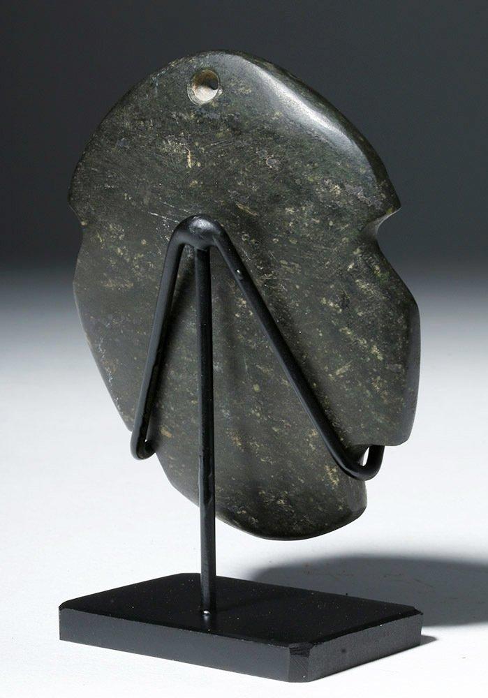 Attractive Guerrero Mezcala Blackstone Maskette - 3