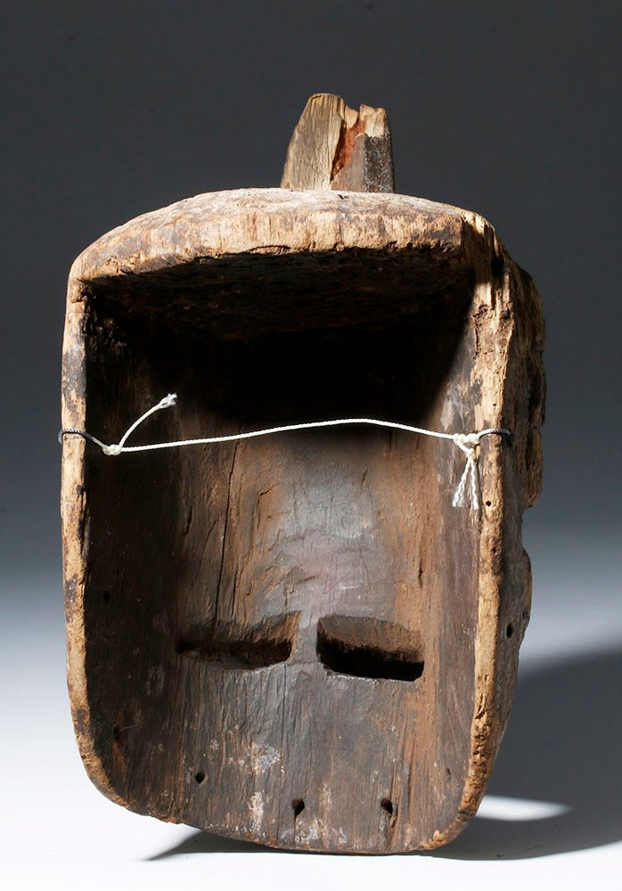 Bini Wood Mask (Worn in Nkporo Ifogu Masquerade) - 2
