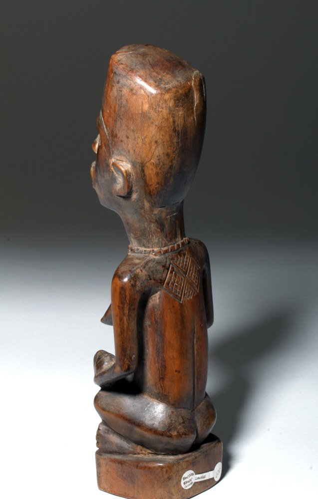 Bakongo Hand-Carved Wood Maternity Figural Pair - 2