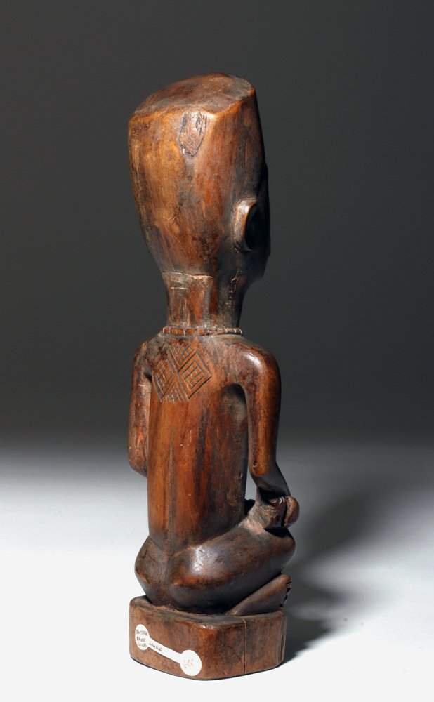 Bakongo Hand-Carved Wood Maternity Figural Pair - 3