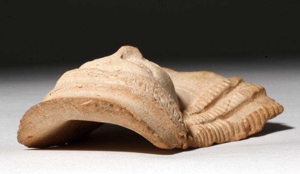 Western Greek Archaic Pottery Female Protome - 6