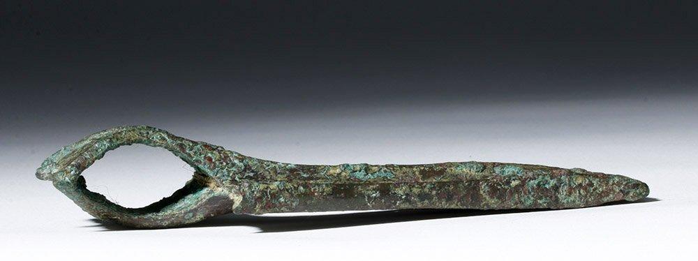 Luristan Bronze Axe head - Rare Form! - 7