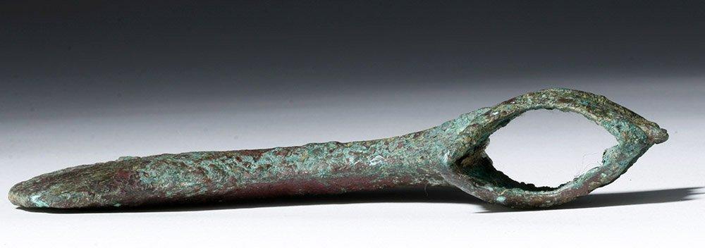 Luristan Bronze Axe head - Rare Form! - 8