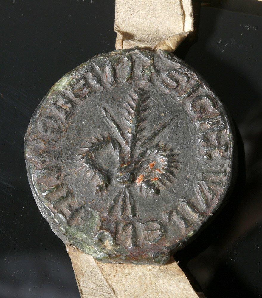 Rare 12th C. English Vellum Charter, William de Bukeham - 3