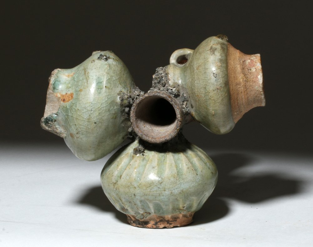 "Chinese Yuan Dynasty Jun Ware Kiln ""Accident"" - 4"