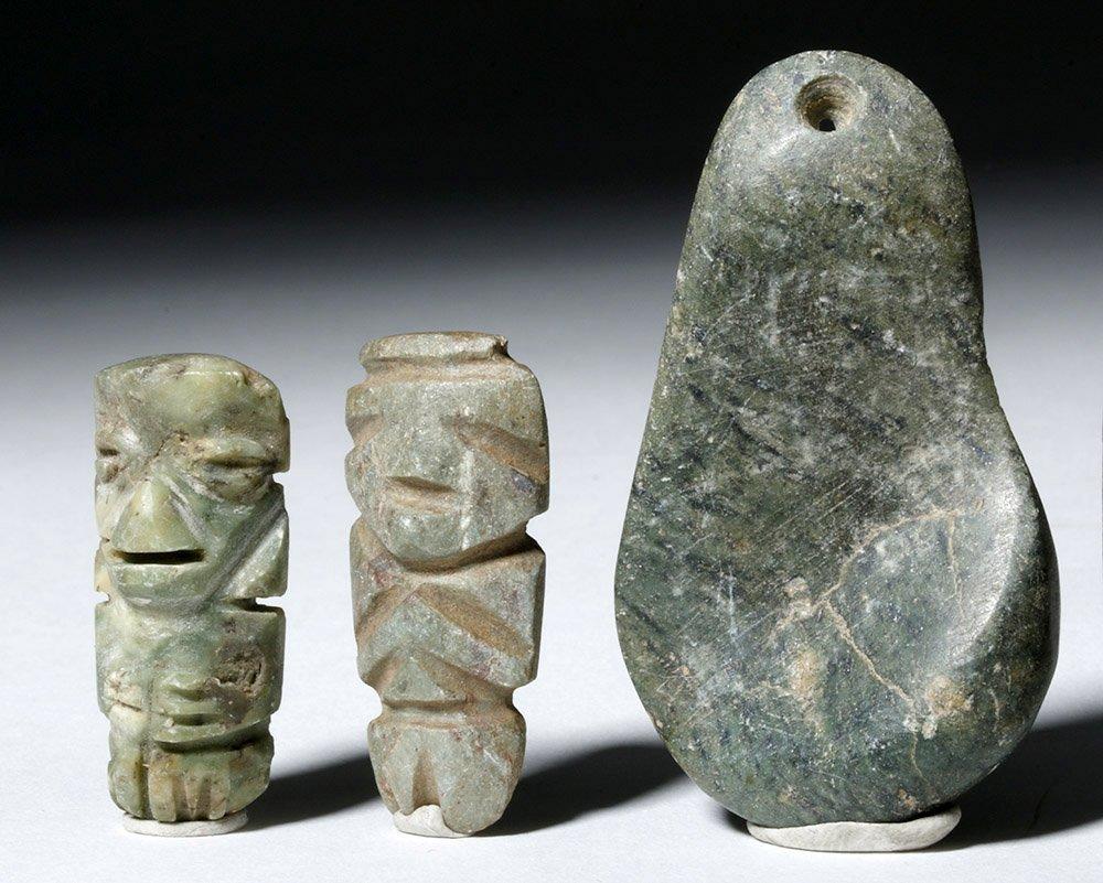 Five Guerrero Mezcala Stone Objects - 2