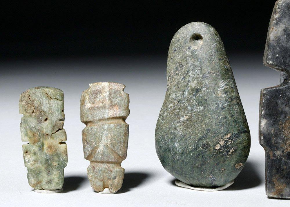 Five Guerrero Mezcala Stone Objects - 5