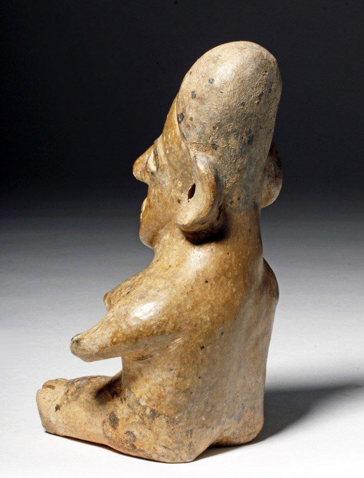 Fine Jalisco Ameca Gray Pottery Seated Female - 2