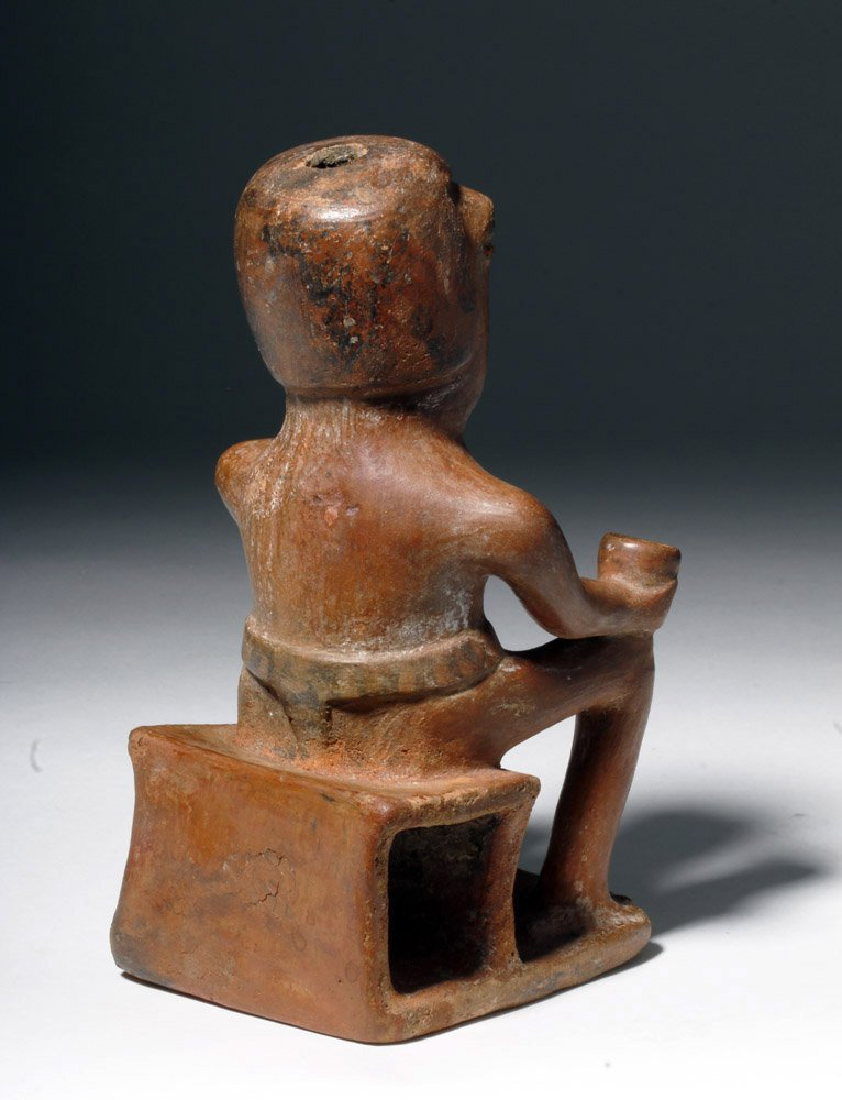 """Narino Seated """"Coquero"""" Holding a Cup - 3"""
