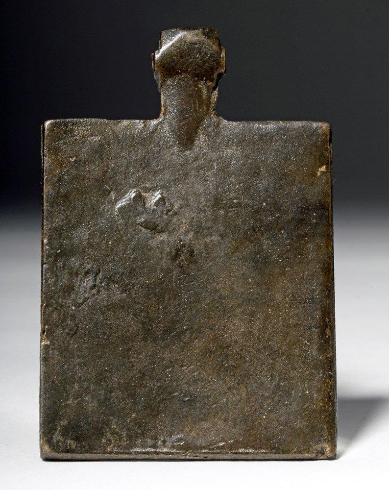Russian Bronze Amulet of St George on Horseback - 4