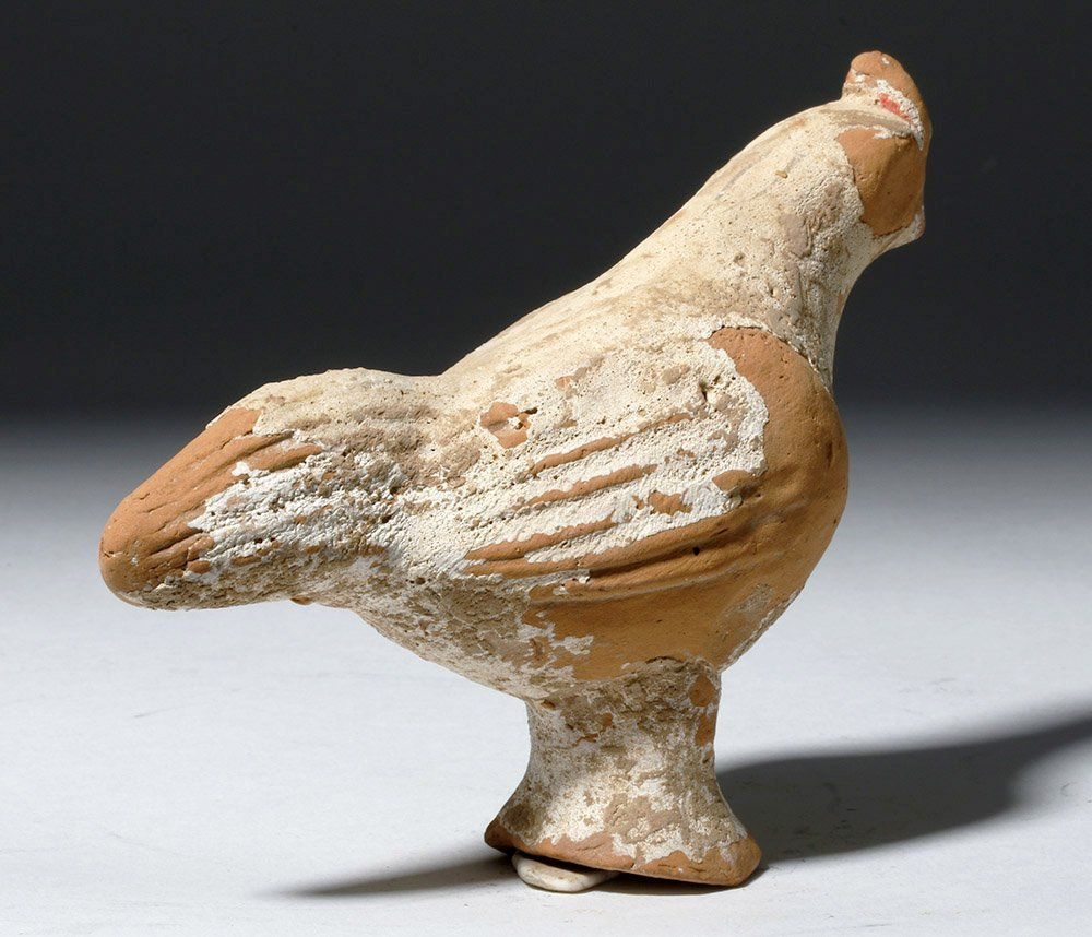 Chinese Tang Dynasty Terracotta Rooster - 2