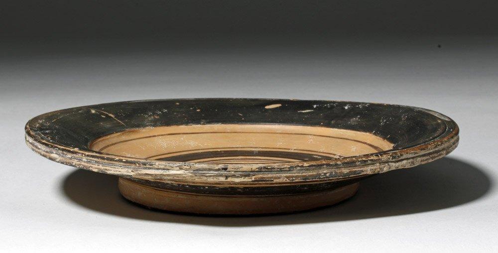 Greek Daunian Pottery Plate - 3