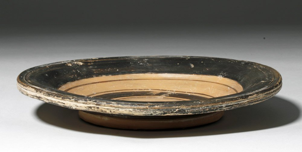 Greek Daunian Pottery Plate - 4