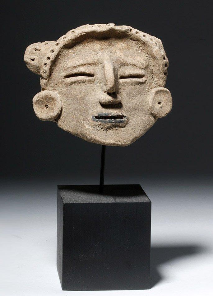 Veracruz Pottery Head - Rare Style